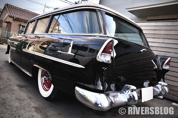 1955 Chevy Bel Air Wagon
