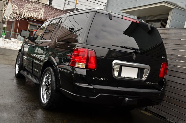 2003 Lincoln Navigator リンカーン ナビゲーター エアサス 故障 コイルスプリング