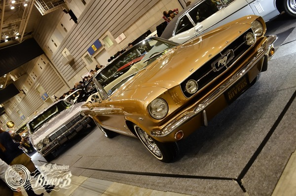 23rd Annual YOKOHAMA HOT ROD CUSTOM SHOW 2014 at Pacifico Yokohama Sunday Dec. 7, 2014.