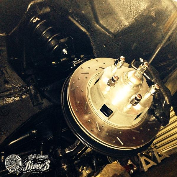 Brake & Suspension をちょいと・・・1965 Ford Mustang GT Convertible Hotchkis SSBC QA1