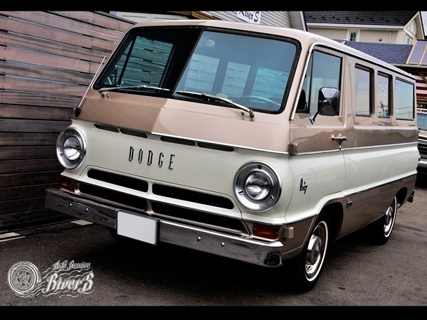 1966 Dodge A100 Custom Sportsman Van