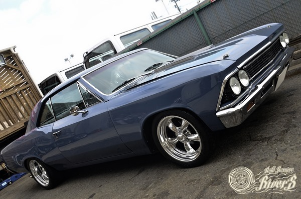 1966 Chevrolet Chevelle American Racing Torq thrust Bf goodrich G-force sport comp-2